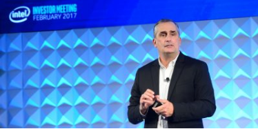 Brian Krzanich at Intel's 2017 investor meeting
