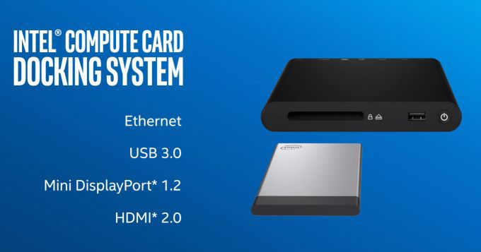 Intel Compute Card docking system