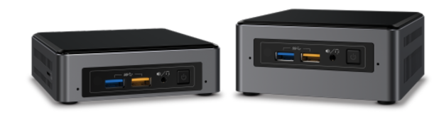 Intel NUC mini-PCs