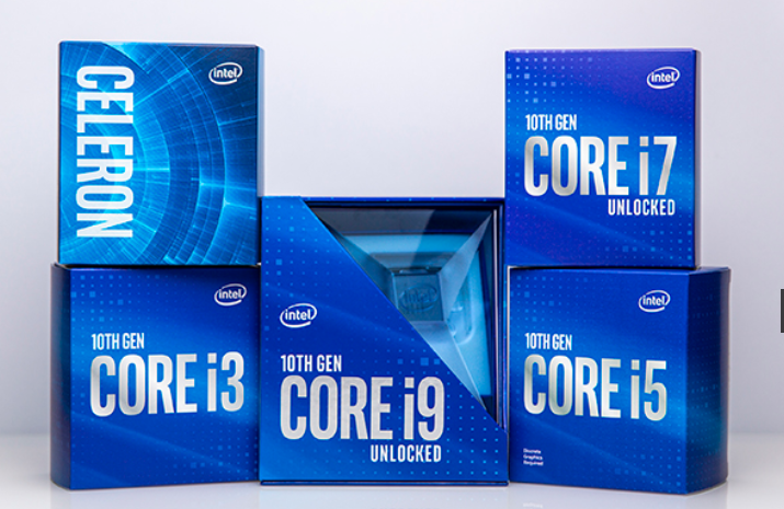 10th Gen Intel Core S-series desktop processors