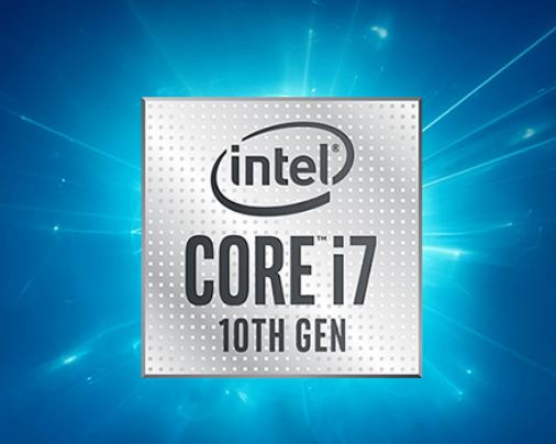 10th Gen Intel Core i7 processor