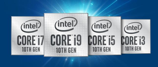 10th Gen Intel Core processors
