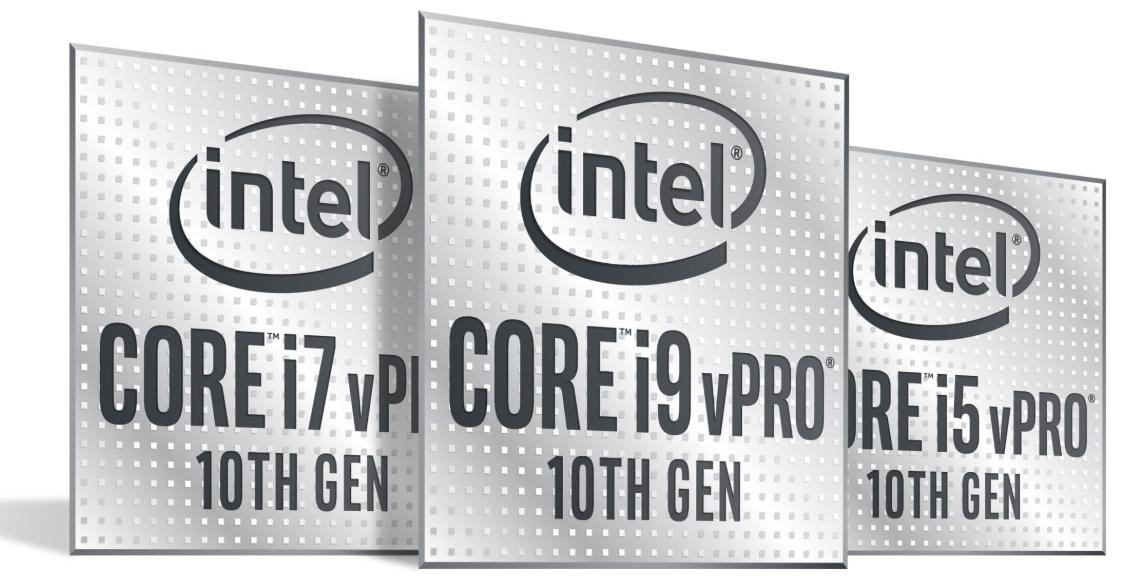 10th gen Intel vPro processors