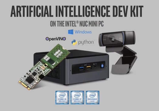 AI on Intel NUC dev kit