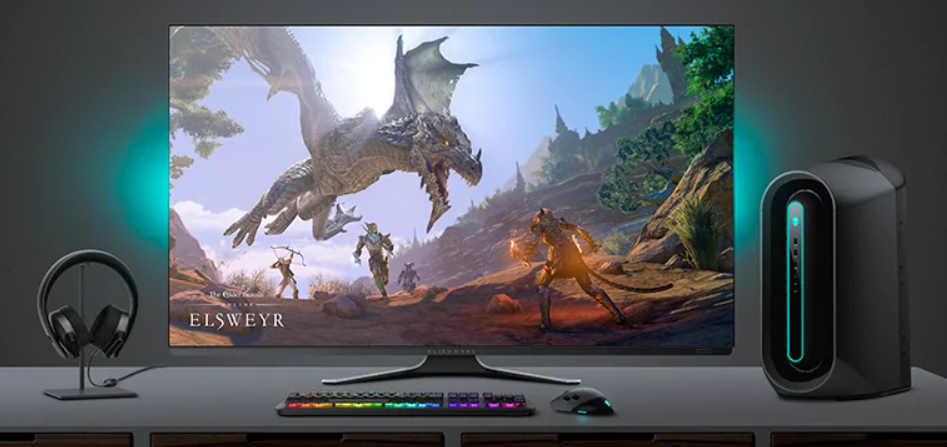 Alienware 55-inch gaming monitor