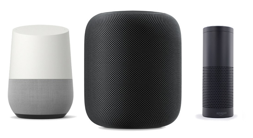Amazon Apple and Google smart-home devices