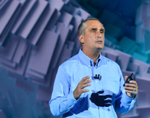 Brian Krzanich at CES 2018