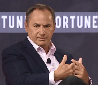 Intel CEO Bob Swan speaking at Brainstorm Tech conference