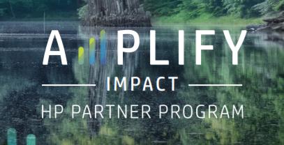 HP Amplify Impact logo