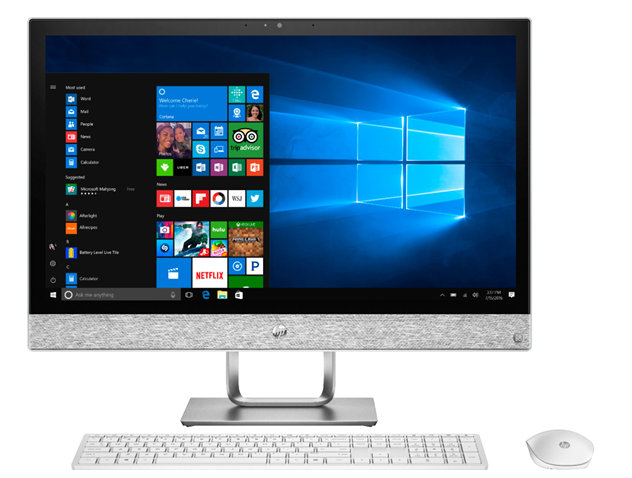 HP Pavilion AiO with touchscreen
