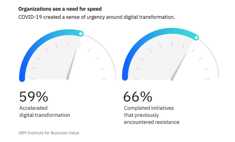 IBM digital transformation survey