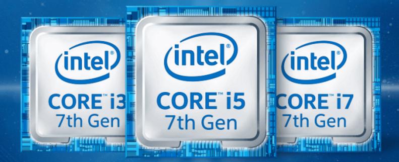 Intel 7th Gen Core Processors