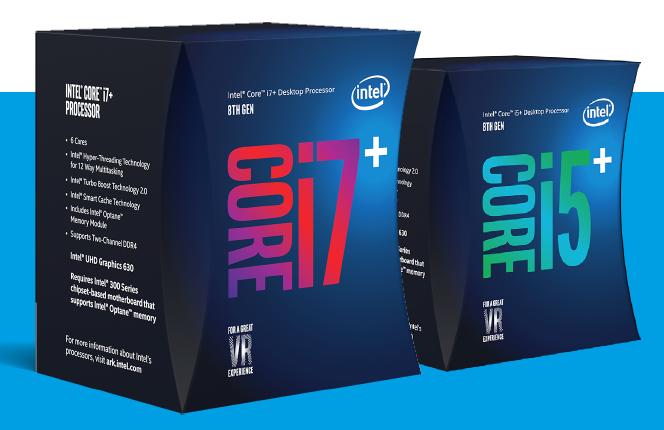 Intel Core i5 and i7 boxes