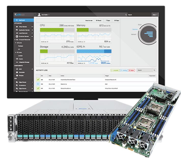 Intel OnApp HCI cloud solution