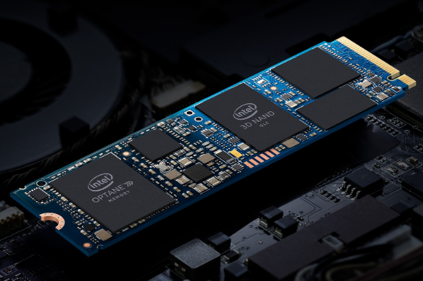 Intel Optane memory H10 with SSD