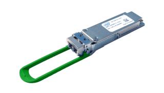Intel Silicon Photonics optical transceiver