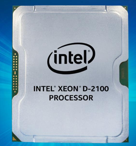 Intel Xeon D-2100 processor