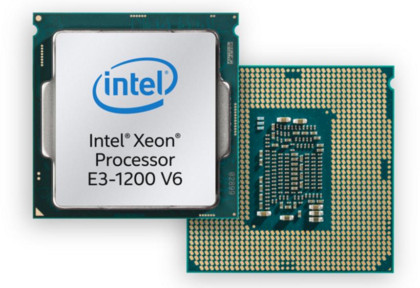 Intel Xeon E3-1200 v6 processor family