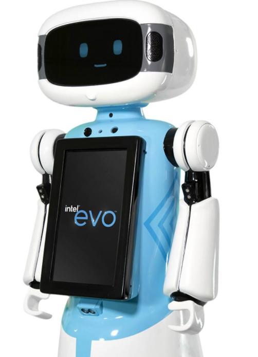 Intel robotic store assistant