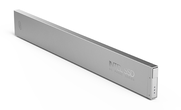 "Intel SSD DC P4500 ""ruler"" drive"