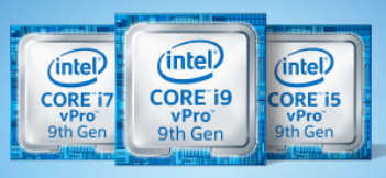 Intel vPro 9th gen processors