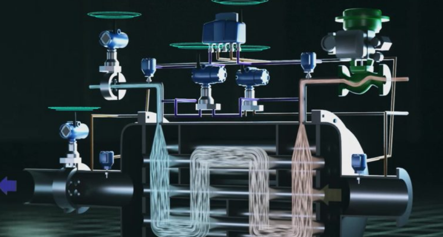 IoT heat exchanger with cloud-connected sensors