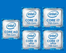 Intel Kaby Lake 7th gen processor family