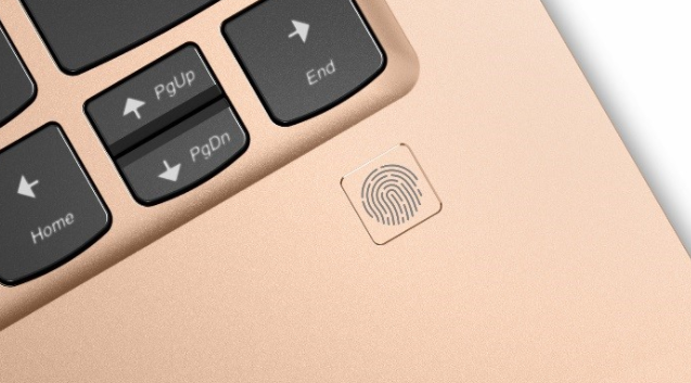 Lenovo fingerprint scanner