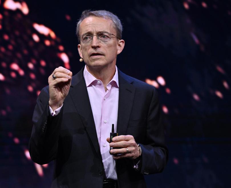 Intel CEO Pat Gelsinger speaking at IIA Mobility