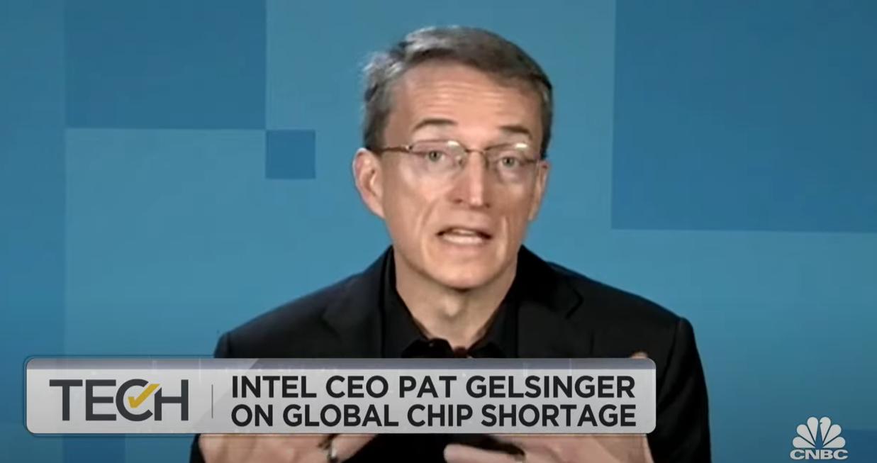 Pat Gelsinger on CNBC