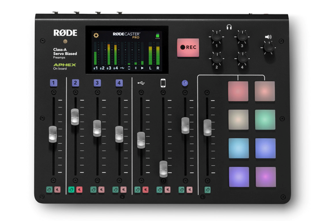 RODECaster Pro mixing console