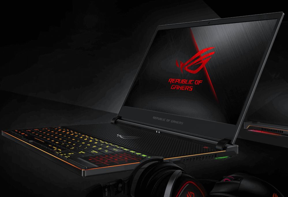 ROG Zephyrus S gaming laptop