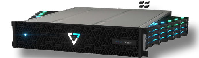 VAST DF-5615 active NVMe enclosure
