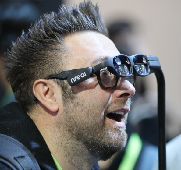 VR goggles at CES 2019