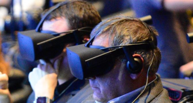VR headset wearers