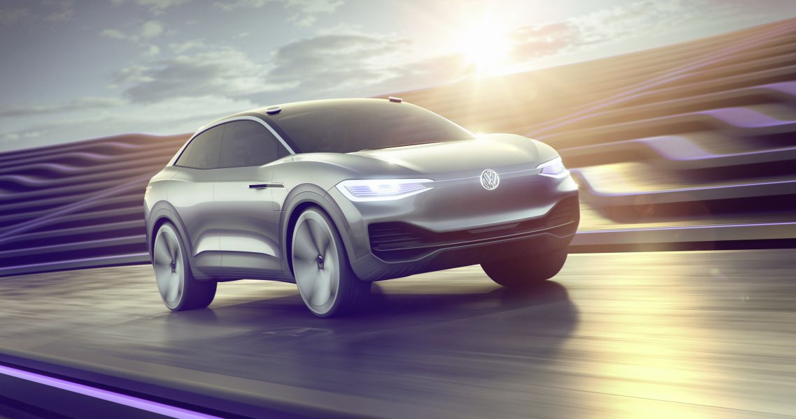 VW self-driving electric vehicle