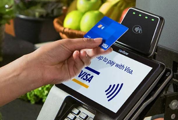 Visa contactless payment