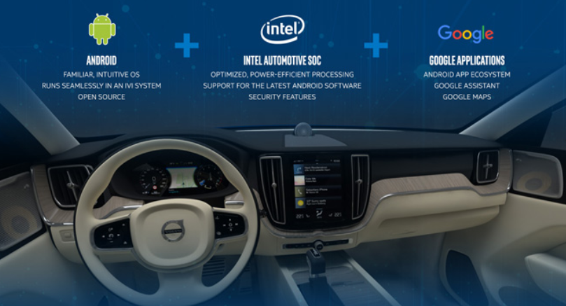 Intel, Volvo, Google make the case for in-vehicle infotainment